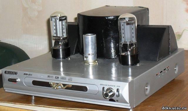 Усилитель на 6П3С.  Ламповый звук.